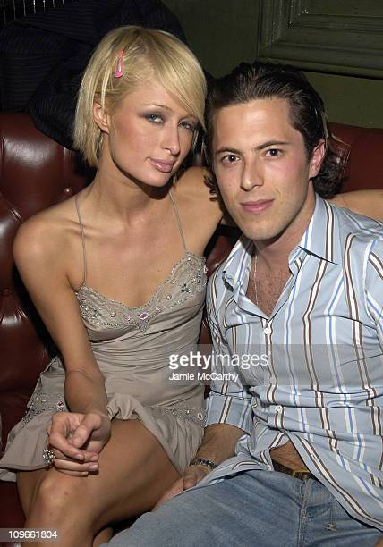 Paris Hilton and Harry Morton during Anniversary Weekend of Body English at Hard Rock Hotel Casino Party at Body English Night 1 at Hard Rock Hotel...