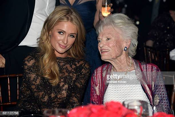 Paris Hilton and honoree Even Branson attend the AltaMed Power Up We Are The Future Gala at the Beverly Wilshire Four Seasons Hotel on May 12 2016 in...