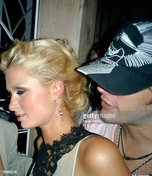 Paris Hilton and Jose Theodore
