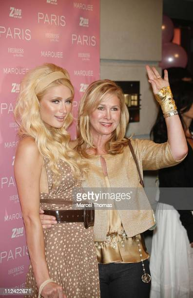 Paris Hilton and Kathy Hilton during Paris Hilton CD Release Party At Marquee August 16 2006 at Marquee in New York City New York United States