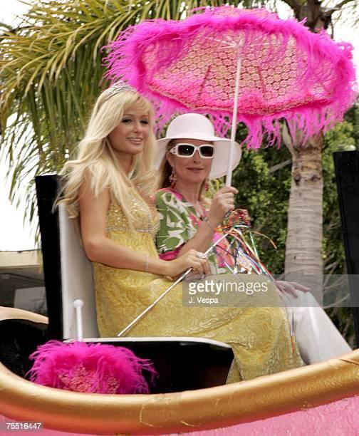 Paris Hilton and Kathy Hilton in West Hollywood California