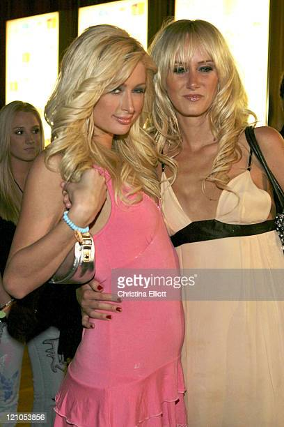 Paris Hilton and Kimberly Stewart during Nicky Hilton Launches her New Clothing Line Chick by Nicky Hilton in Las Vegas Nevada United States
