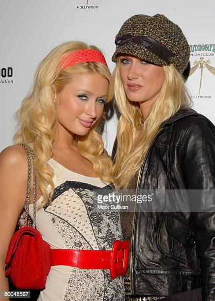 Paris Hilton and Kimberly Stewart