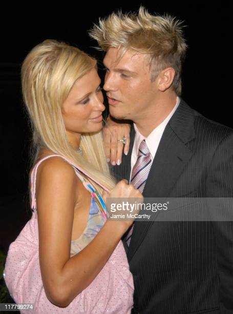 Paris Hilton and Nick Carter at the PS2 Estate during PS2 Estate Day 1 The Launch Party of Paris Hilton's New Record Label Heiress Records in...