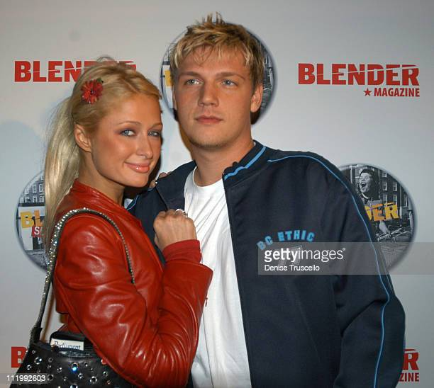 Paris Hilton and Nick Carter during 2004 Park City Blender Sessions Rocks With Five Nights Of Music Day 2 at Harry O's in Park City Utah United States