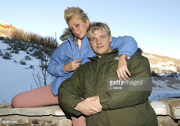 Paris Hilton and Nick Carter with The North Face *Exclusive*