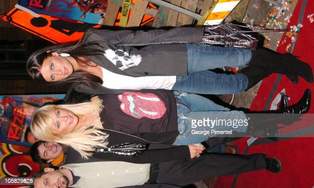 """Paris Hilton and Nicky Hilton during 2005 Sundance Film Festival - """"Rize"""" After Party at The Gateway Center in Park City, Utah, United States."""