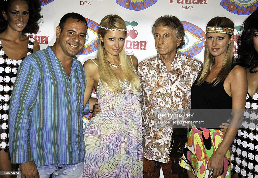 Amato Celebrities Attend Flower Power Party In Ibiza Photos and Images  ZP66