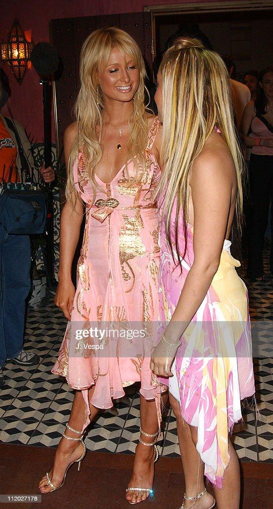 91d107e40fd4e Paris Hilton and Nicole Richie during 'The Simple Life 2' Welcome ...