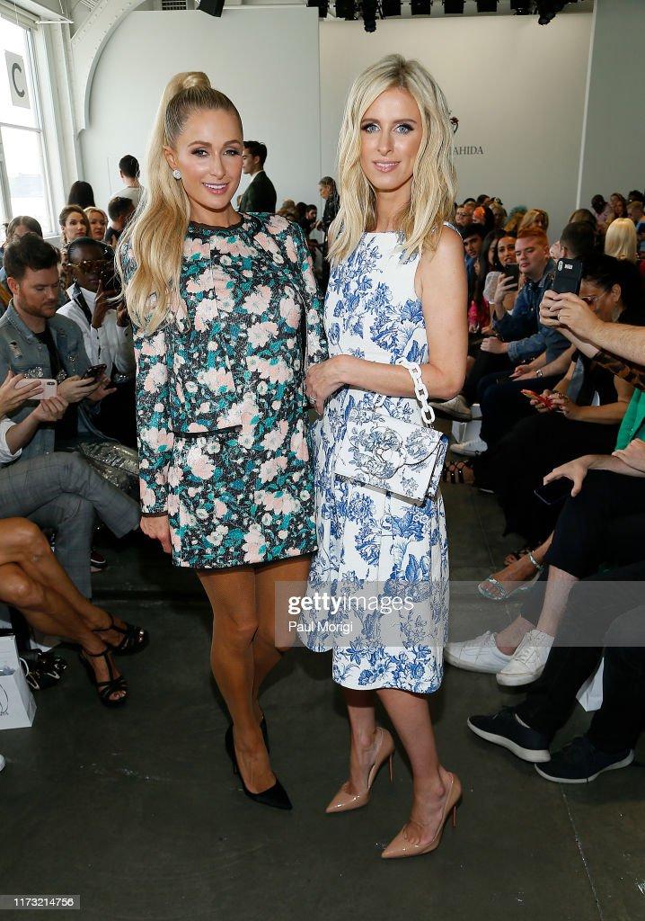 Kyle & Shahida - Front Row - September 2019 - New York Fashion Week : News Photo