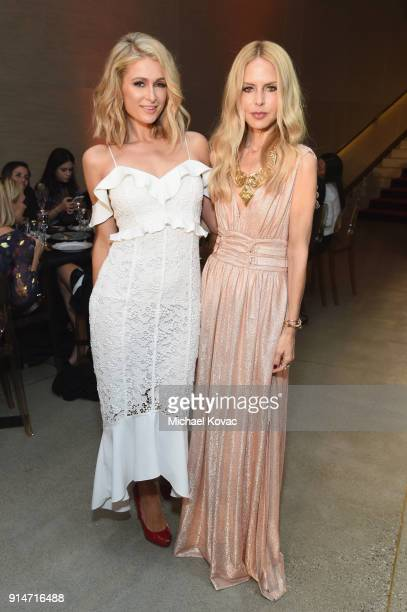 Paris Hilton and Rachel Zoe celebrate with Belvedere Vodka at the Rachel Zoe Fall 2018 Presentation in West Hollywood California