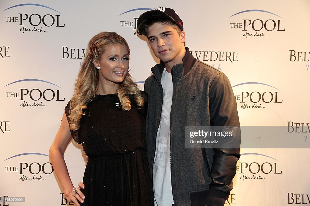 Paris Hilton Hosts An Evening At The Pool At Harrah's Casino