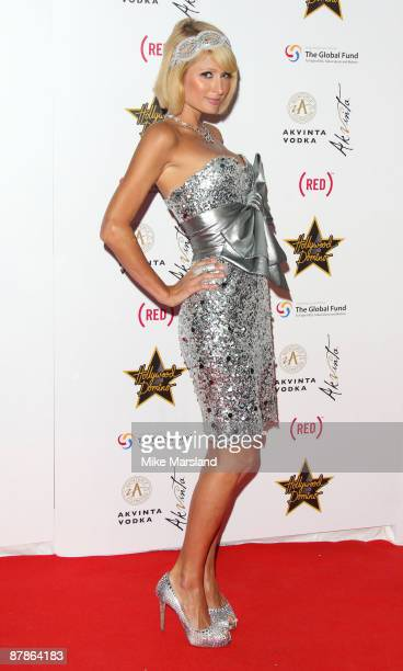 Paris Hilton arrives at the Akvinta Presents A Night of Hollywood Domino Party at The House at Cannes during the 62nd International Cannes Film...