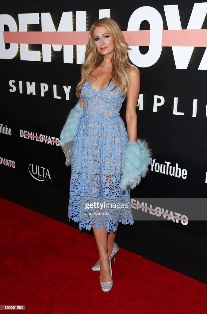 "Premiere Of YouTube's ""Demi Lovato: Simply Complicated"" - Arrivals"