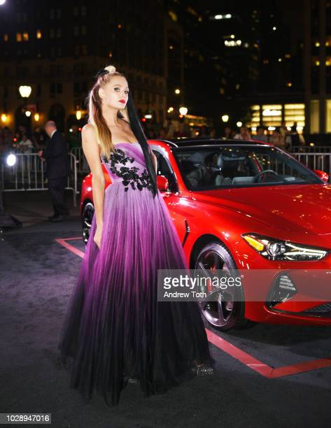 Paris Hilton as Harper's BAZAAR Celebrates 'ICONS By Carine Roitfeld' at the Plaza Hotel on September 7 2018 in New York City