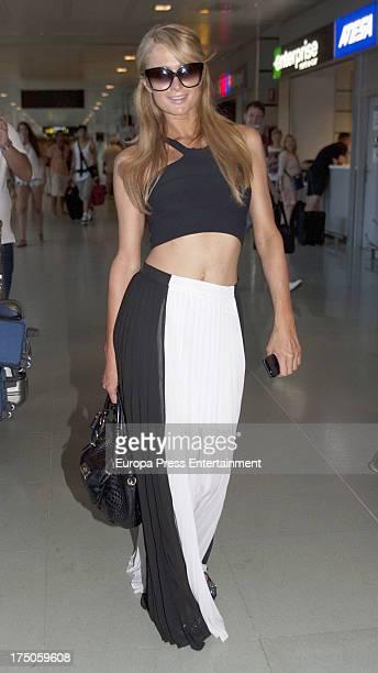 Paris Hilton as seen on July 30 2013 in Ibiza Spain