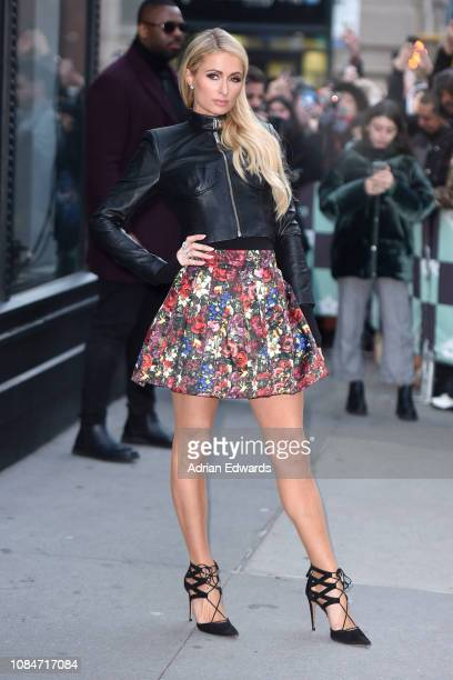 Paris Hilton at Build Series Live on December 19 2018 in New York City
