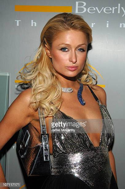 Paris Hilton at Paris Hilton Birthday Dinner at The Prime Grill Beverly Hills *EXCLUSIVE*