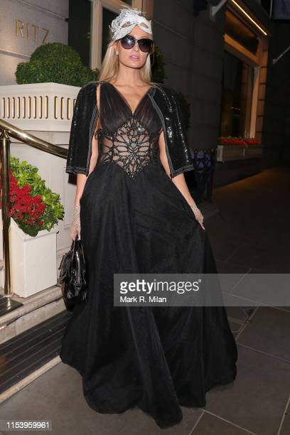 Paris Hilton at The Ritz Hotel on June 05 2019 in London England