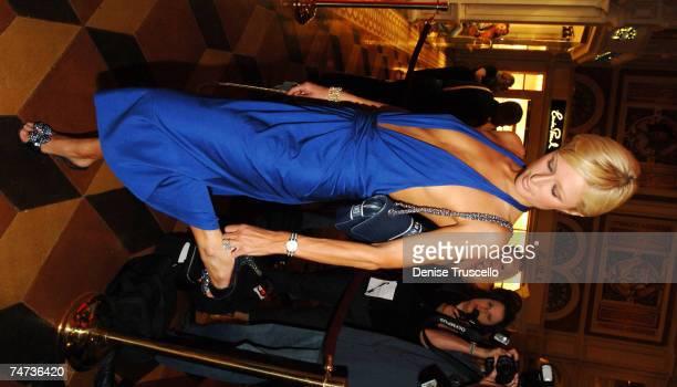 Paris Hilton at the TAO Restaurant and Nightclub in Las Vegas Nevada