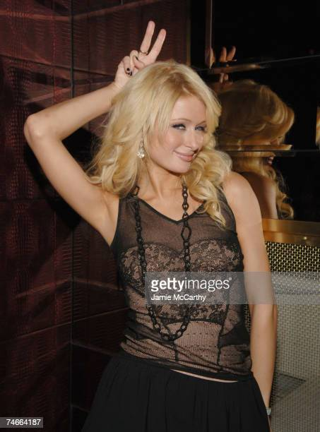 Paris Hilton at the The Playboy Club, The Palms Hotel and Casino in Las Vegas, Nevada