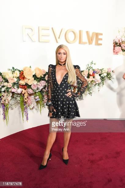 Paris Hilton attends 3rd Annual #REVOLVEawards at Goya Studios on November 15, 2019 in Hollywood, California.