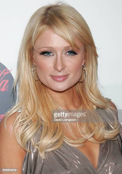 Paris Hilton attends a screening of 'Quantum of Solace' at Sony Pictures Studios on November 13 2008 in Culver City California