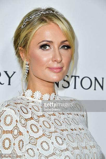 Paris Hilton attends amfAR's Inspiration Gala Los Angeles at Milk Studios on October 27 2016 in Hollywood California