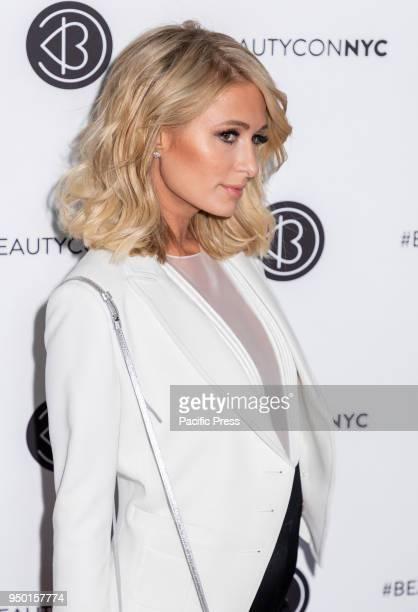 Paris Hilton attends Beautycon Festival NYC 2018 at Jacob K Javits Center Manhattan