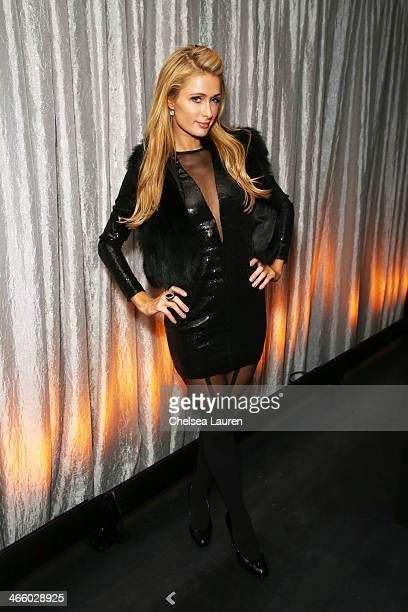 Paris Hilton attends CIROC presents Bootsy Bellows at the Liquid Cellar on January 31 2014 in New York City