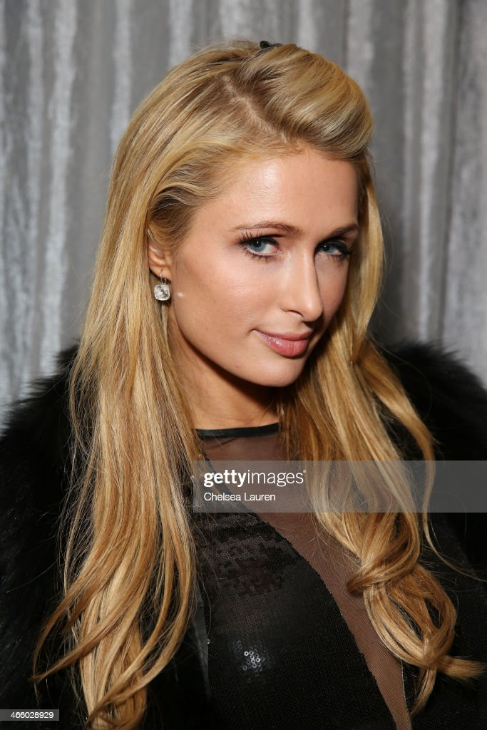 Paris Hilton attends CIROC presents Bootsy Bellows at the Liquid Cellar on January 31, 2014 in New York City.