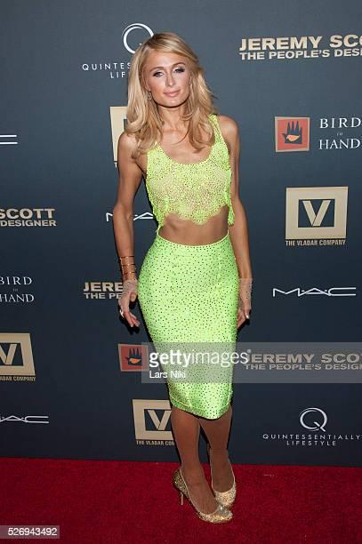 Paris Hilton attends Jeremy Scott The' People's Designer New York premiere at the Paris Theatre in New York City �� LAN