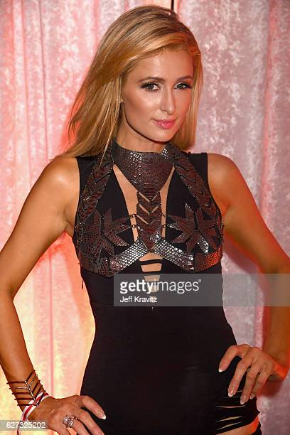 Paris Hilton attends Madonna presents An Evening of Music Art Mischief and Performance to benefit Raising Malawi at Faena Forum on December 2 2016 in...