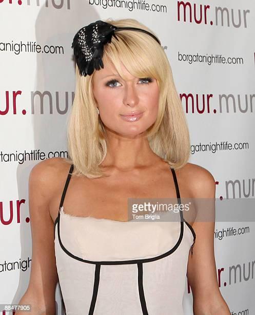 Paris Hilton attends murmur Nightclub at the Borgata Hotel Casino Spa on June 13 2009 in Atlantic City