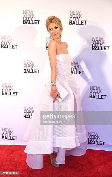 Paris Hilton attends New York City Ballet's Spring Gala at David H Koch Theater at Lincoln Center on May 4 2016 in New York City