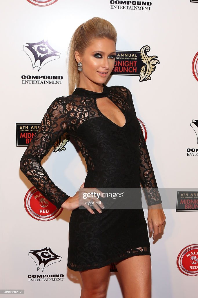 Paris Hilton attends Ne-Yo & Compound Entertainment Present: The 6th Annual Grammy Midnight Brunch at Lure on January 25, 2014 in Hollywood, California.