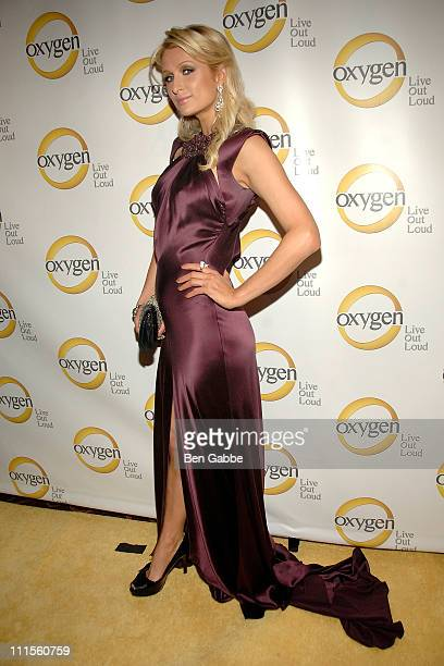 Paris Hilton attends Oxygen Media's 2011 upfront presenstation at Gotham Hall on April 4 2011 in New York City