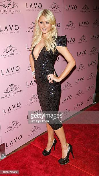 Paris Hilton attends Paris Hilton's 30th Birthday Party at Lavo on February 17 2011 in New York City