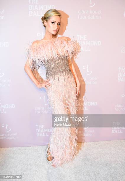 Paris Hilton attends Rihanna's 4th Annual Diamond Ball benefitting The Clara Lionel Foundation at Cipriani Wall Street on September 13 2018 in New...
