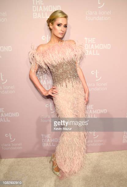 Paris Hilton attends Rihanna's 4th Annual Diamond Ball benefitting The Clara Lionel Foundation at Cipriani Wall Street on September 13, 2018 in New...