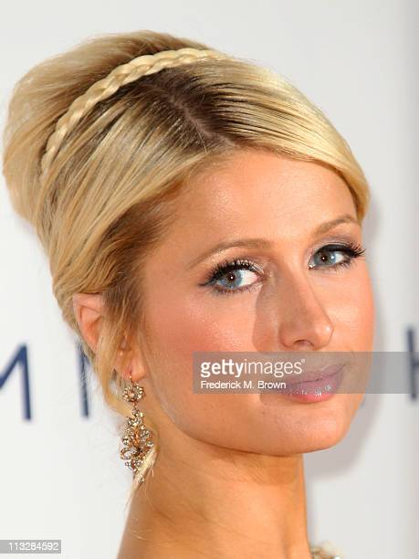 Paris Hilton attends the 18th Annual Race to Erase MS Gala at the Hyatt Regency Century Plaza Hotel on April 29 2011 in Los Angeles California