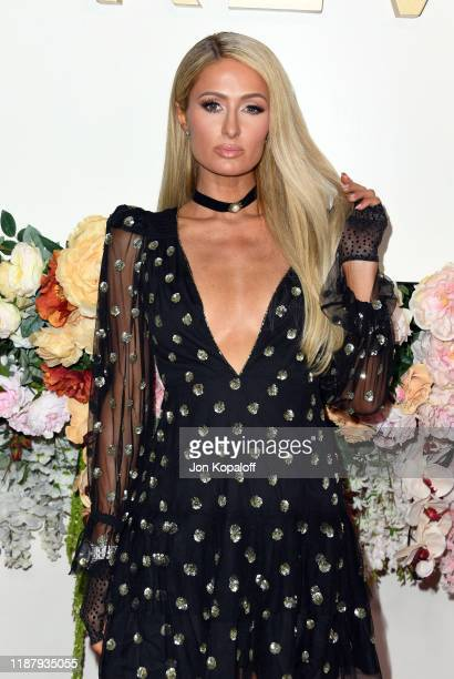 Paris Hilton attends the 3rd Annual #REVOLVEawards at Goya Studios on November 15 2019 in Hollywood California