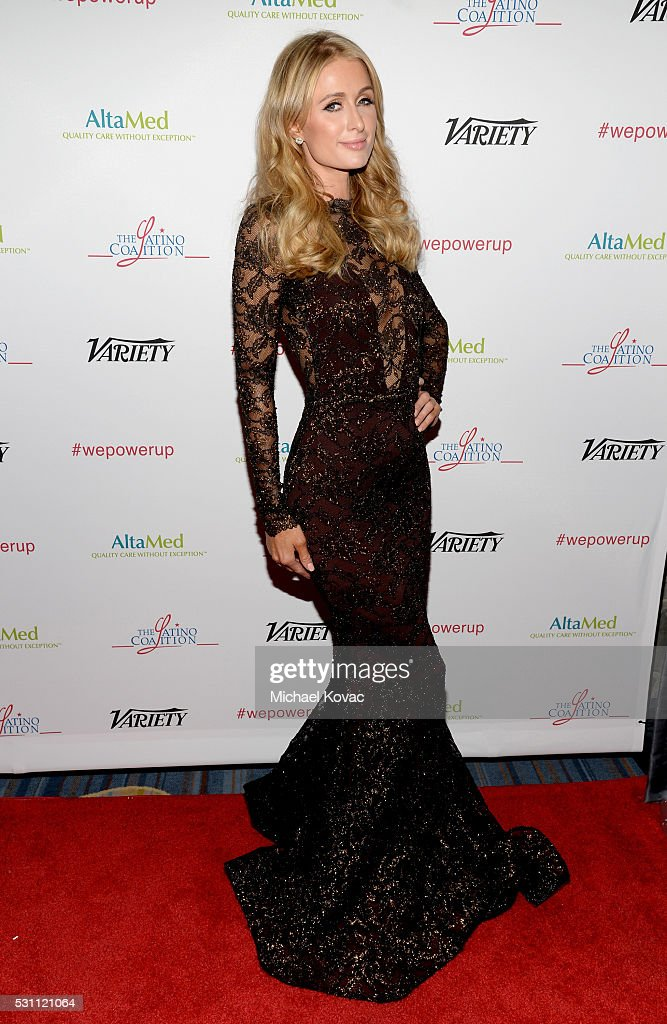 Paris Hilton attends the AltaMed Power Up, We Are The Future Gala at the Beverly Wilshire Four Seasons Hotel on May 12, 2016 in Beverly Hills, California.