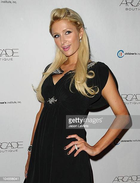 Paris Hilton attends the Autumn Party benefiting Children's Institute at The London Hotel on September 29, 2010 in West Hollywood, California.