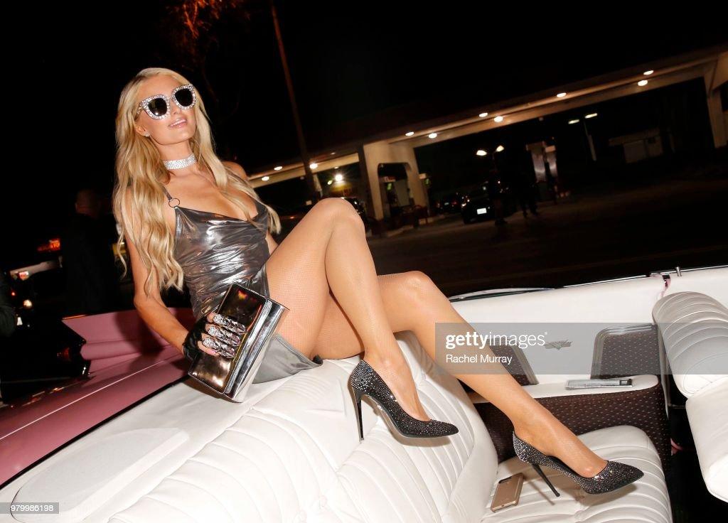 boohoo.com x Paris Hilton Collection Launch Party : News Photo