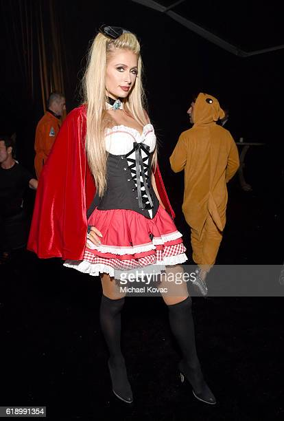 Paris Hilton attends the Casamigos Halloween Party at a private residence on October 28 2016 in Beverly Hills California