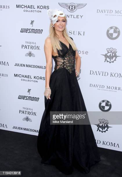 Paris Hilton attends the Cash Rocket Gala at Victoria Albert Museum on June 05 2019 in London England