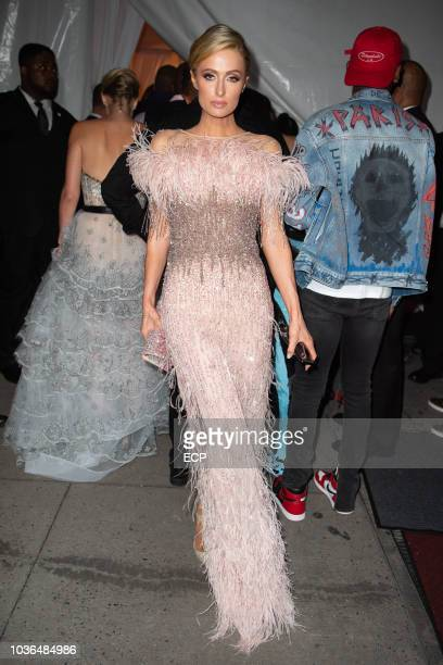 Paris Hilton attends the Diamond Ball held at Cipriani Wall St on September 13 2018 in New York City