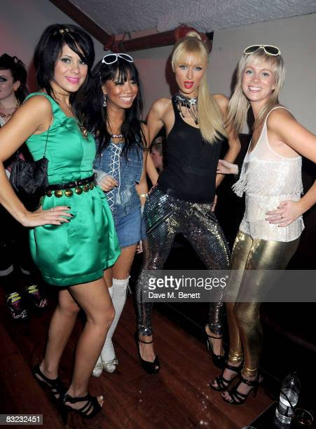 Paris Hilton attends The Diesel xXx Creative Experiment Party as Diesel celebrates its 30th Birthday at Matter in the O2 Arena on October 11 2008 in...