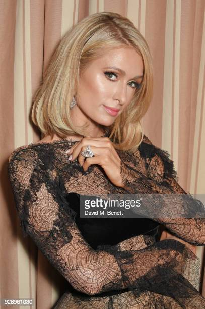Paris Hilton attends the first annual gala hosted by MAISONDEMODECOM and Perrier Jouet to celebrate Sustainable Style by honoring Suzy Amis Cameron...